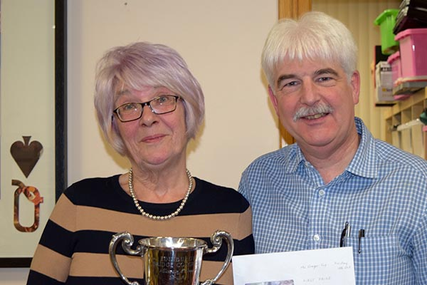 McGregor Cup Winners: Veronica Guy and Peter Moss